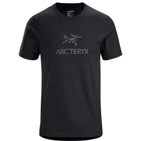 Arc'teryx Arc'Word Maglia a maniche corte Uomo, black heather